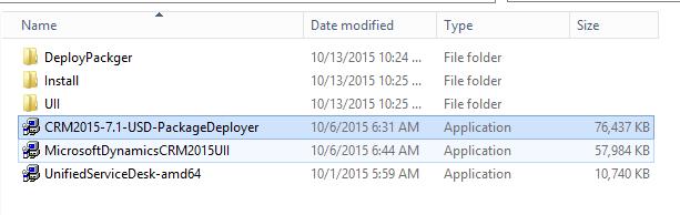 Instale o Package Deployer
