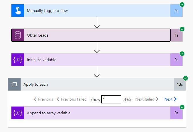 Exemplo execução flows
